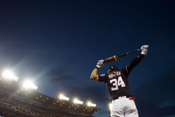 National League All-Star outfielder Bryce Harper would like to see a radical change to the All-Star Game format.