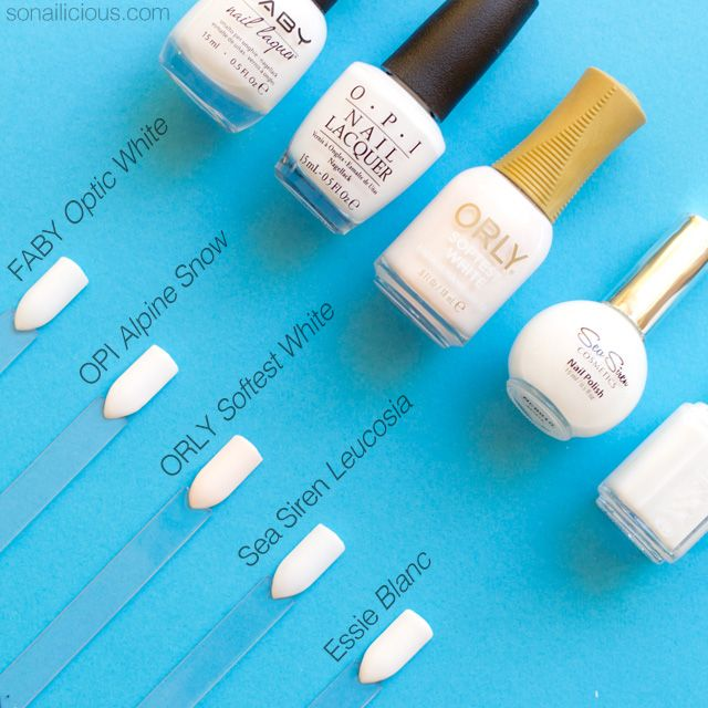 Discover the best 5 white nail polishes for every nail art need. Plus, swatches, dupes and the best places to buy white nail polish to save your money...