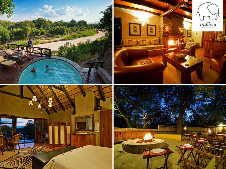 Our Shingwedzi Villa sleeps four in two double en-suite rooms & has its own private deck, pool & boma! Book here: http://ow.ly/LTGP30dUX12