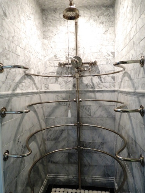 The Vintage Ribcage Shower In Quot Katherine S Mirror Image