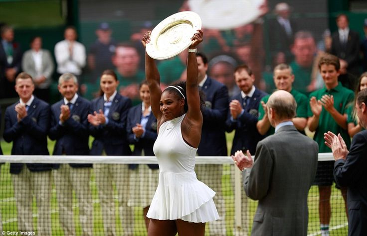 Serena Williams has underlined her position as one of the all-time greats of tennis after winning a seventh Wimbledon title