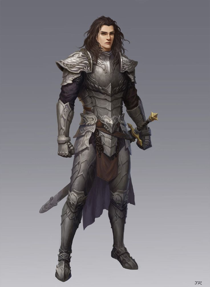 ArtStation - guard, Rui Jin. Thought it was a female at first and got really excited. Started thinking this is how it should be then opened it and whoops, but it's still going in BECAUSE THIS IS HOW IT SHOULD BE!