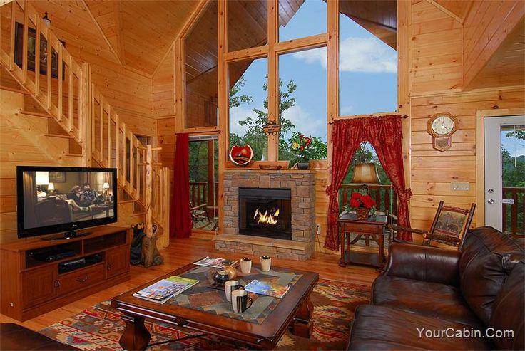 77 best luxury large cabins images on pinterest bath for Gatlinburg tn luxury cabins