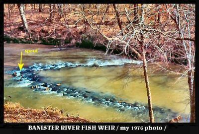 Banister River Fish Weir
