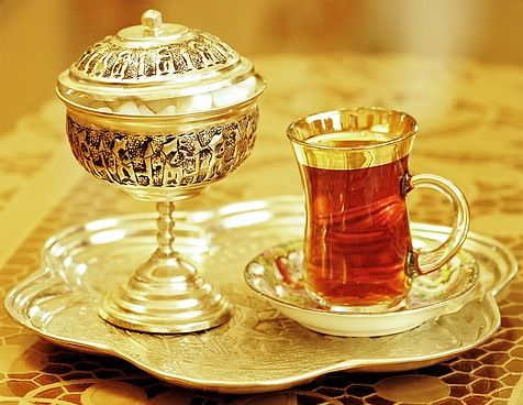 "Persian tea--my favorite. The history of tea culture in Iran started at the end of the 15th century. Before that coffee was the main beverage in Iran. However, most of the coffee producing countries were located far from Iran, making shipping very difficult. With a major tea producing country, China, located on a nearby trading path, ""the silk road"", and the shipping of tea was much easier. (wiki)"