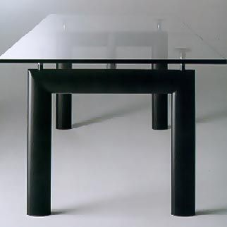 The Le Corbusier LC6 is another timeless design by Corbusier  This  height adjustable table41 best Art   Design images on Pinterest   Art designs  . Corbusier Lc6 Dining Table. Home Design Ideas