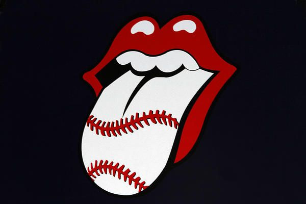 Photo of the modified Rolling Stones Tongue Logo taken at ...