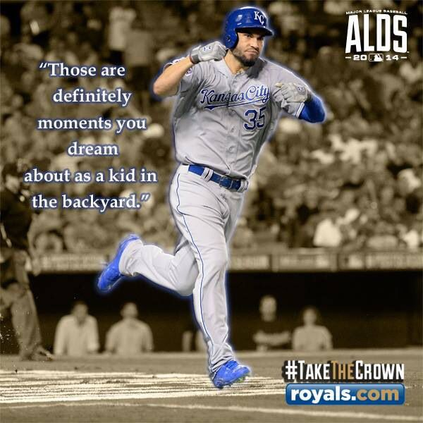 The Royals play baseball like they are eight year old boys running outside for recess. Live the dream! World Series 2015!!!!!