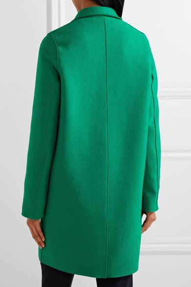 Harris Wharf London - Oversized Wool-felt Coat - Green