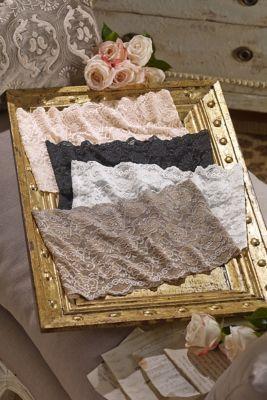 Lace Bandeau - Cleavage Cover, Lace Bandeau Bra   Soft Surroundings