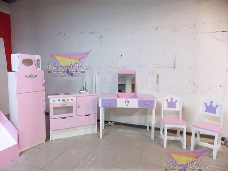 Las 25 mejores ideas sobre literas para ni as en for Muebles habitacion infantil nina