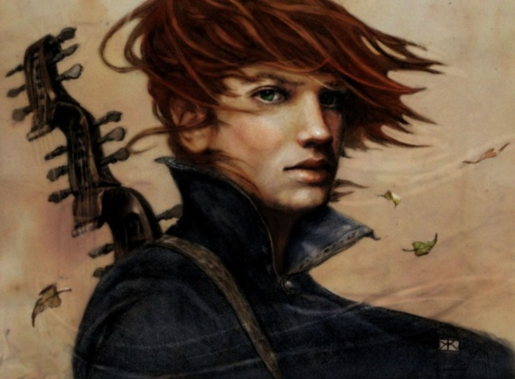 Kvothe, from the fantabulous books Name of the Wind and The Wise Man's Fear by Patrick Rothfus