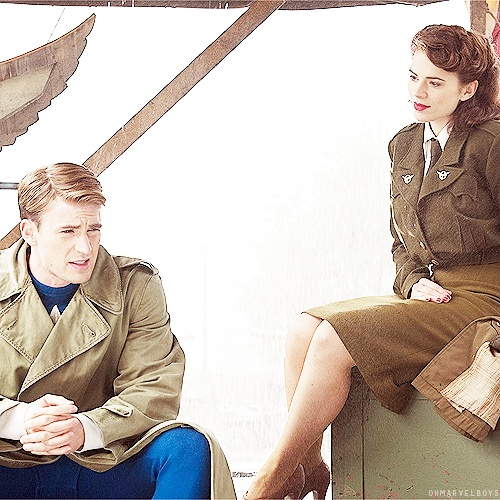 ^ Peggy Carter... The only leading lady I don't hate. <------ I don't hate them all, but she's the best!