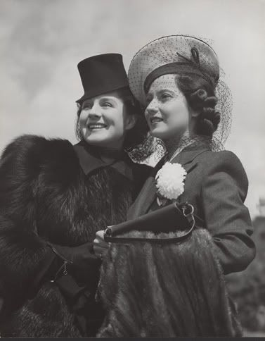 Merle Oberon with her great friend Norma Shearer
