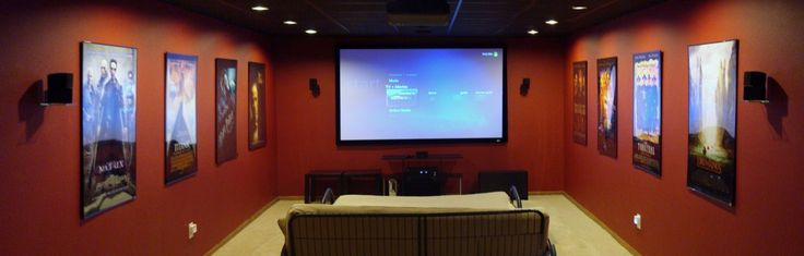 Man Cave Theater : Traditional theater home pinterest
