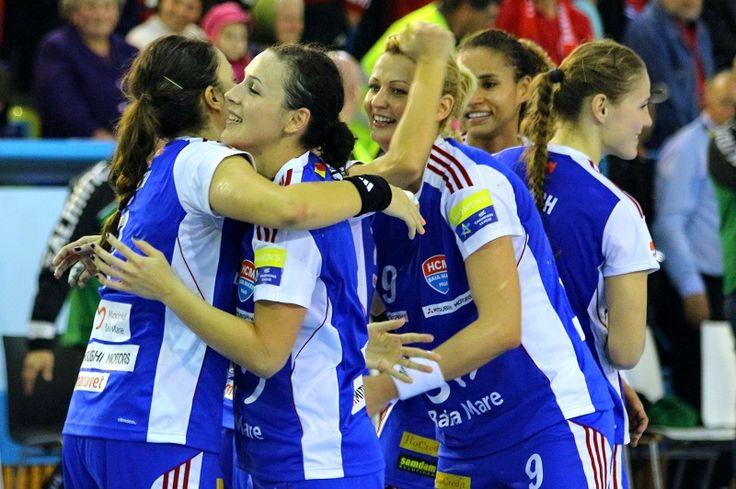 **VIDEO** HCM Baia Mare - Savehof 34-24. Cea mai clară victorie în acest sezon al Ligii Campionilor. Se văd sferturile
