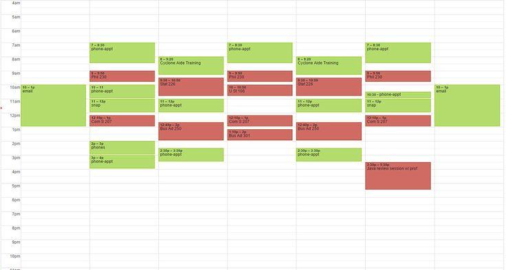Laurdiy Calendar : Best final exam schedule ideas on pinterest study