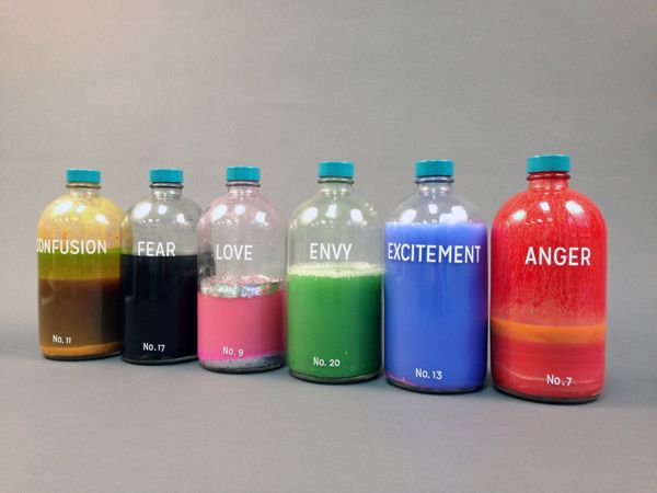 Bottled Emotions by Taylor Kinser, via Behance