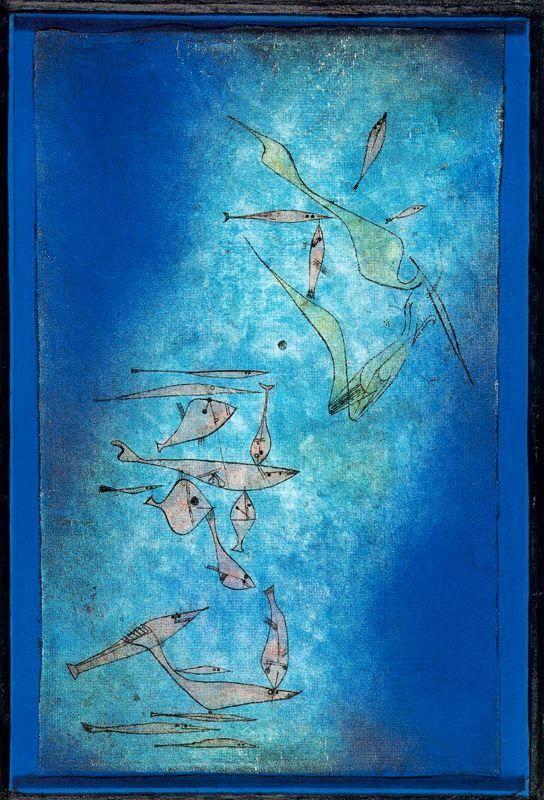 Paul Klee - Fish Image, 1925.                                                                                                                                                                                 More