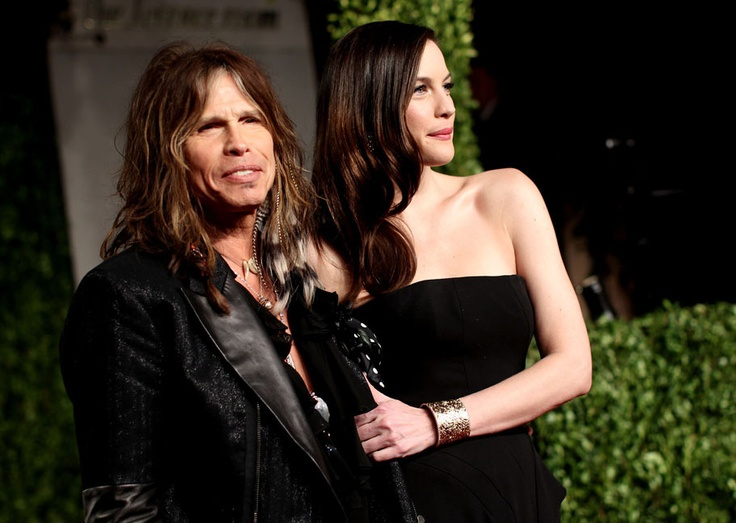 Steven Tyler (Aerosmith) and Daughter Liv