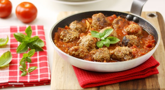 Baked Meatballs in Tomato sauce - weightloss.com.au