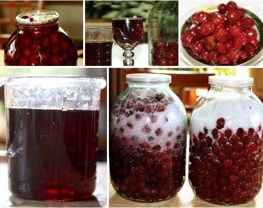 Вишневый домашний ликер Для приготовления вишневого ликера применяются полностью вызревшие ягоды вишни, причем вместе с косточкой. Примечательно то