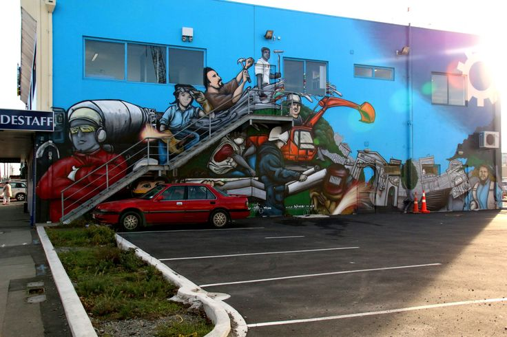 CYPHER, DEELO and others.Christchurch, New Zealand.