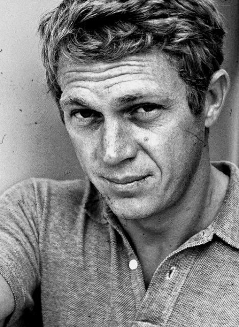 "Steve McQueen <embodied cool> and was a part of the greatest car chase ever filmed ""Bullitt"" Also the famous motorcycle footage in the Great Escape but I just loved him as an actor in anything he did  I couldn't take my eyes off his wax  figure at Madame Tussauds in LA"