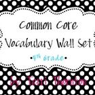 This vocabulary wall packet is the ideal addition to any math classroom.  It contains around 100 vocabulary cards that you can introduce and implem...