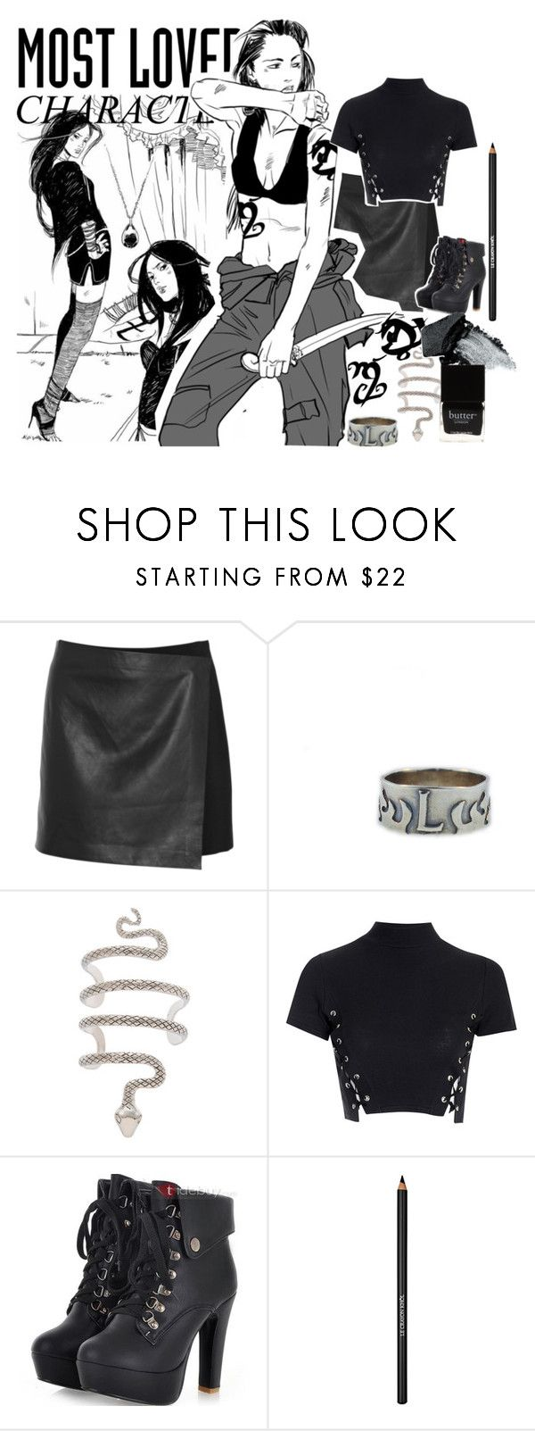 """""""Isabelle Lightwood Most Loved Character"""" by arya-starks ❤ liked on Polyvore featuring Theory, Hot Topic, Rune NYC, Glamorous, Gorgeous Cosmetics, Lancôme, Butter London, shadowhunters, isabellelightwood and MostLovedCharacter"""