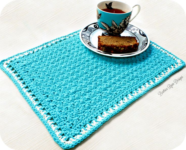 Tea Time Placemat... Free Crochet Pattern!!