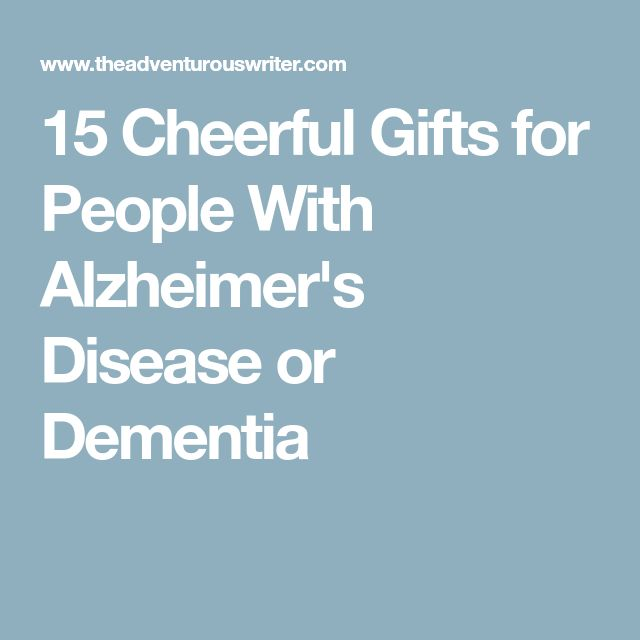 15 Cheerful Gifts for People With Alzheimer's Disease or Dementia
