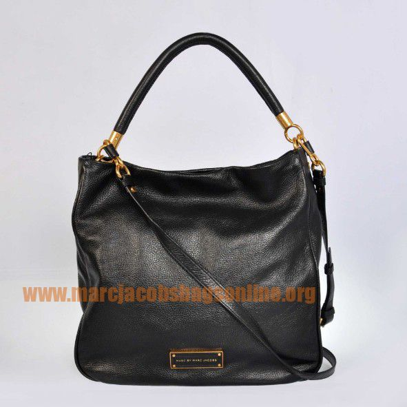 Cheap Marc Jacobs Too Hot to Handle Hobo Black $171.50-marcjacobsbagsonline.org