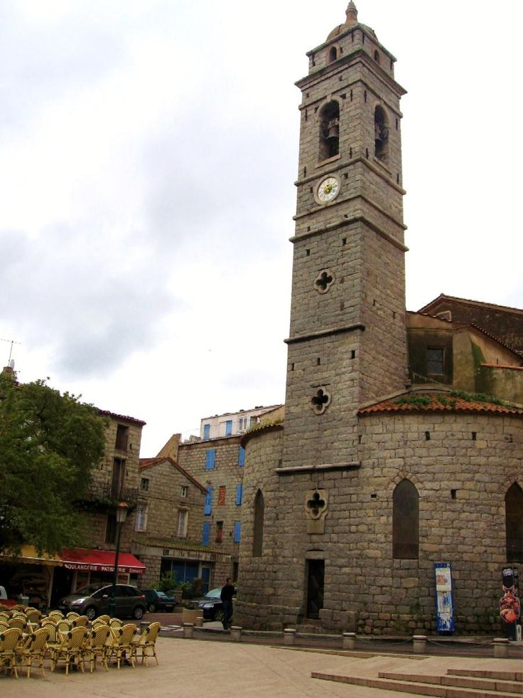 Main church, Porto Vecchio