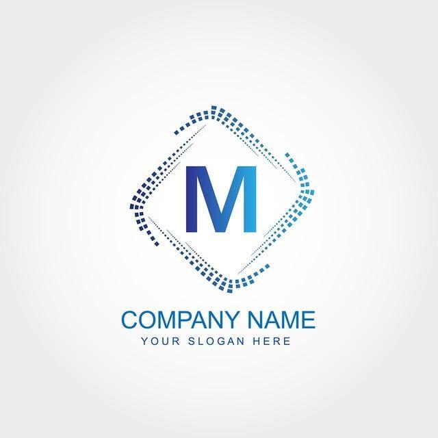حرف م تصميم شعار القالب Modelos De Logotipo Modelos De Design Web Design