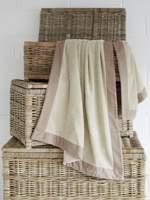 Dobby beach towel in canvas £55.30 reduced - calvin klein