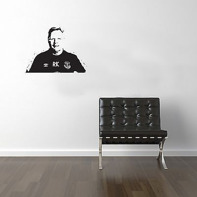 Football Managers Koeman Vinyl Transfer Sticker Decal Wall