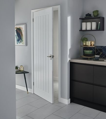 The Pre-finished Dordogne smooth door has a superior finish which saves on finishing time : howdens door - Pezcame.Com