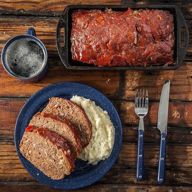 Venison Meatloaf By Nikki Boxler Recipe Traeger Grills Recipe Venison Meatloaf Recipes Venison