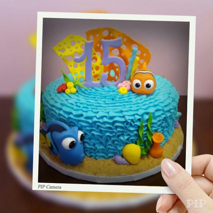 Nemo Cake: 1000+ Ideas About Finding Nemo Cake On Pinterest