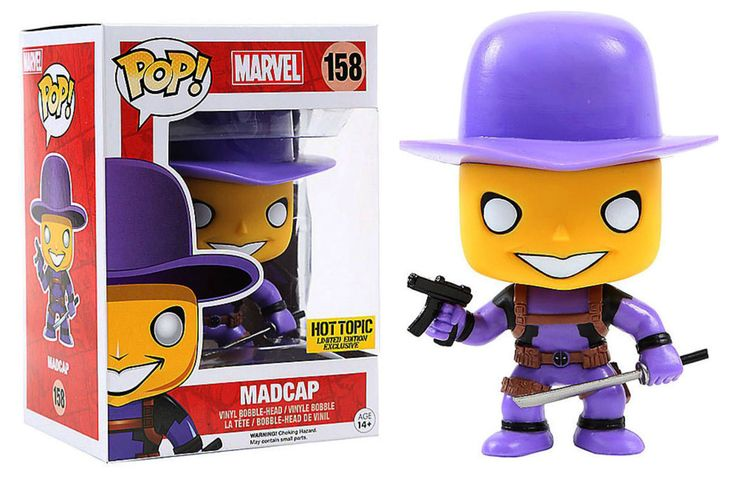 Pop! Marvel - Deadpool - Madcap [Purple]