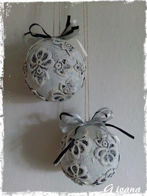 U nás...: Vánoční koule