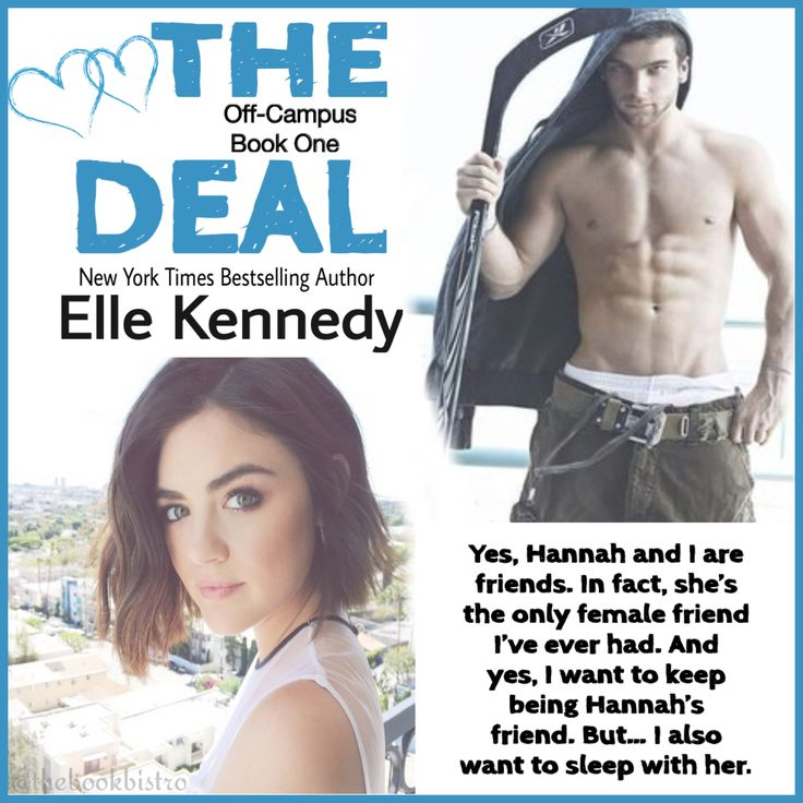 The Deal by Elle Kennedy #BistroFave