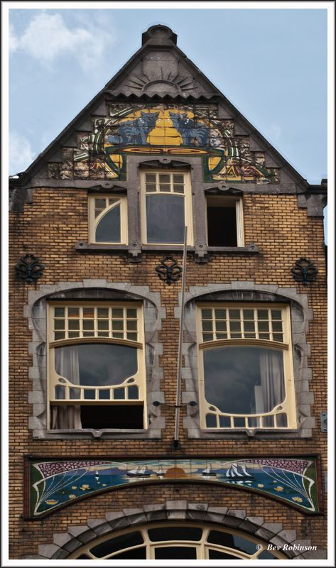 The Cat Façade, Roermond, Netherlands