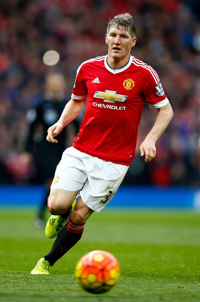 Bastian Schweinsteiger of Manchester United during the Barclays Premier League match between Manchester United and Manchester City at Old Trafford on October 25, 2015 in Manchester, England. (Oct. 24, 2015 - Source: Clive Rose/Getty Images Europe)