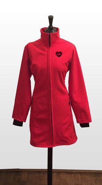 NANA babywearing coat - red