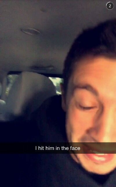 Joshua Dun's snapchat story 07-19-15