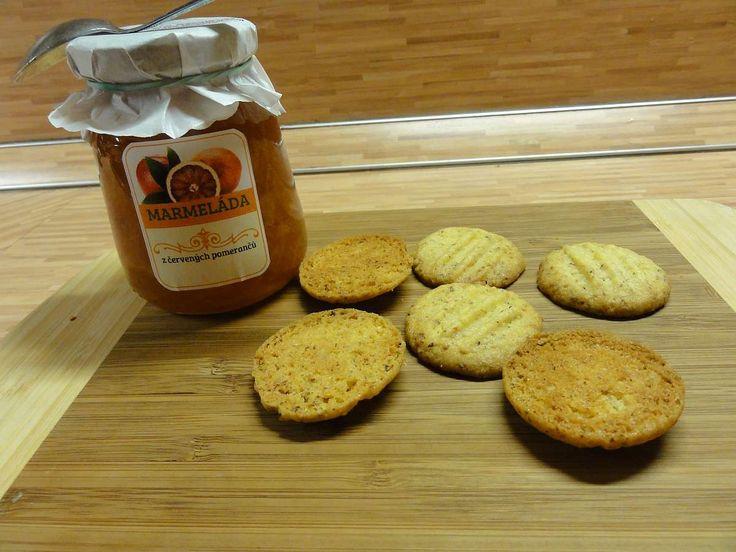Jak upéct pomerančové sušenky   recept