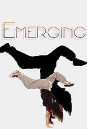 Poster for the web series emerging, about up and coming dancers/performance artists. Lots of dance videos!