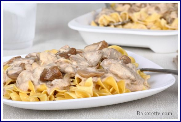 Five stars for this Beef Stroganoff made in the Crock Pot.